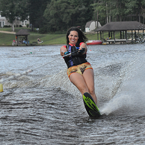 Own a piece of water ski paradise in Virginia.